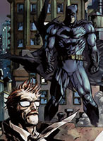 Batman und Commissioner Gordon