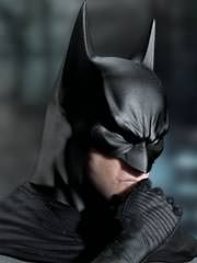 Batman in Denkerpose