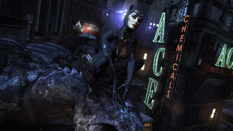 Catwoman in Arkham City