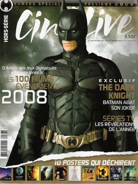 Christian Bale als Batman in Cinelive