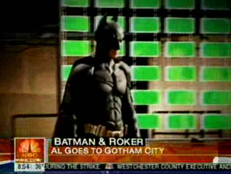 Batman in der Today Show