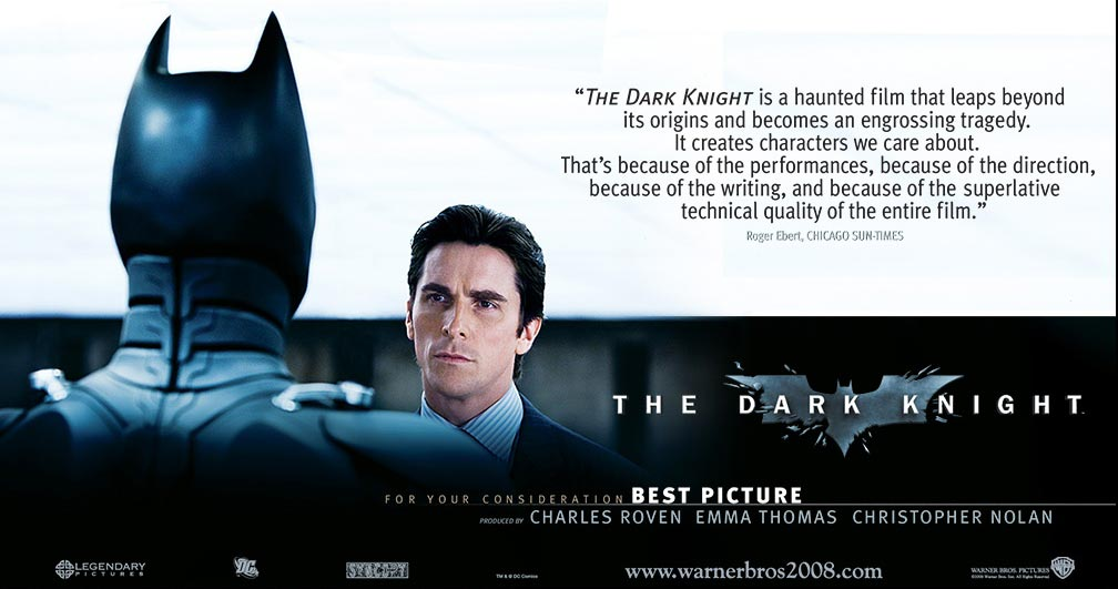 The Dark Knight Oscar Nomination