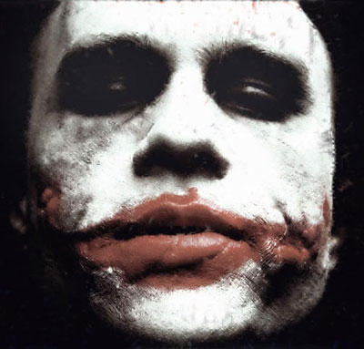 Der Joker Heath Ledger